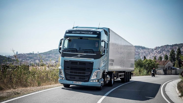 Volvo Trucks' new natural gas and biogas Trucks