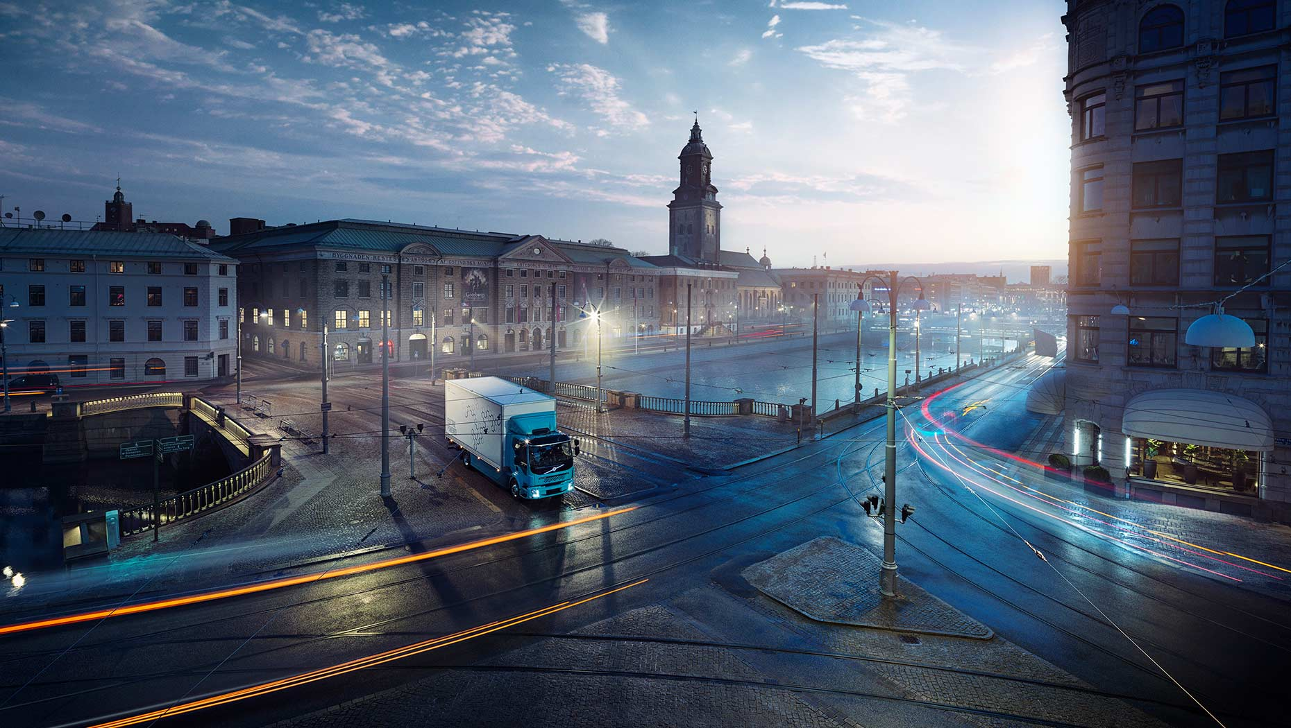 The first fully electric Volvo truck