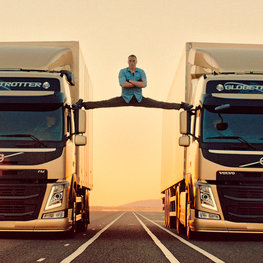 Volvo FM: the epic split