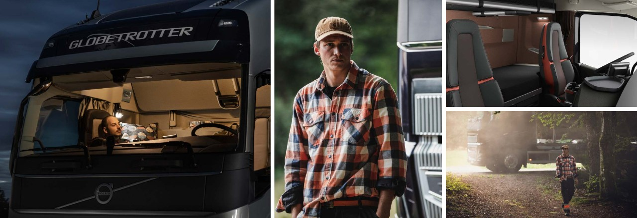 The Volvo FH16 is your rolling hotel suite.