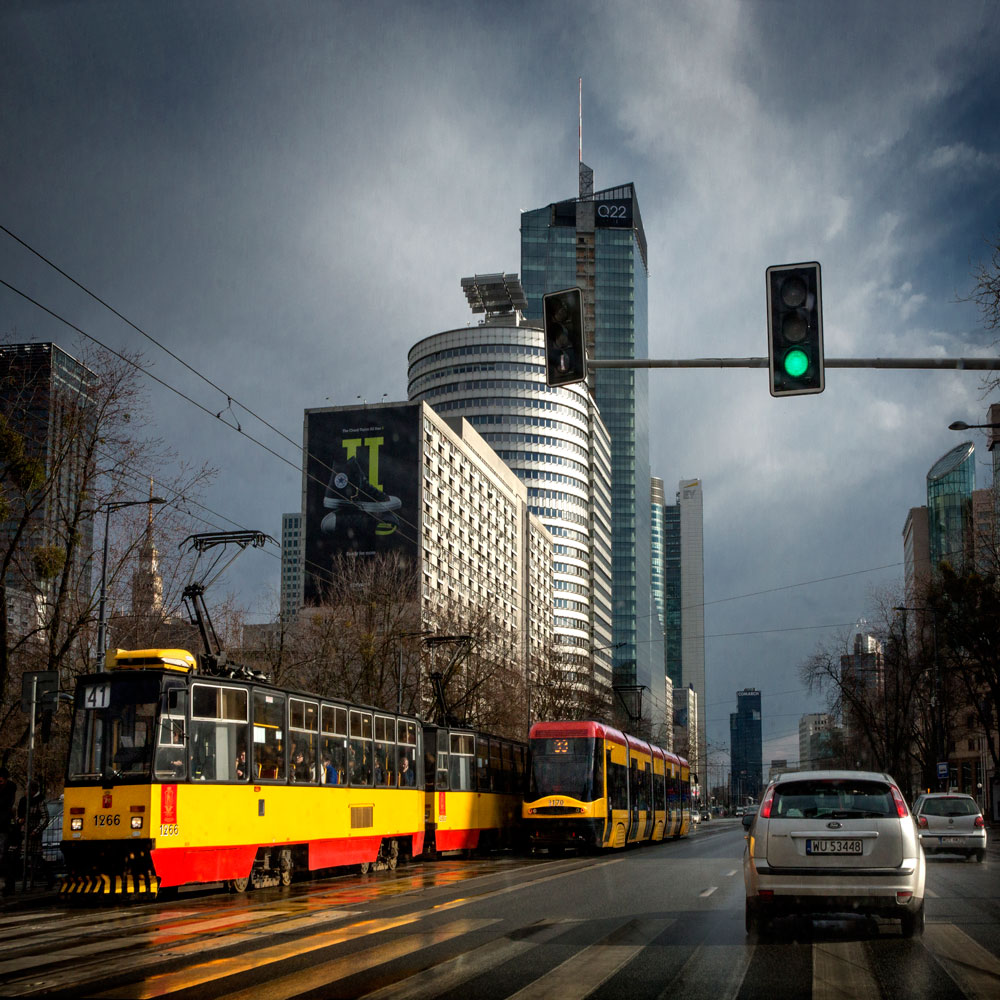 Warsaw, capital of Poland and location of Jastim's head office. Many of its customers want to see Jastim continuously reduce its fuel consumption.