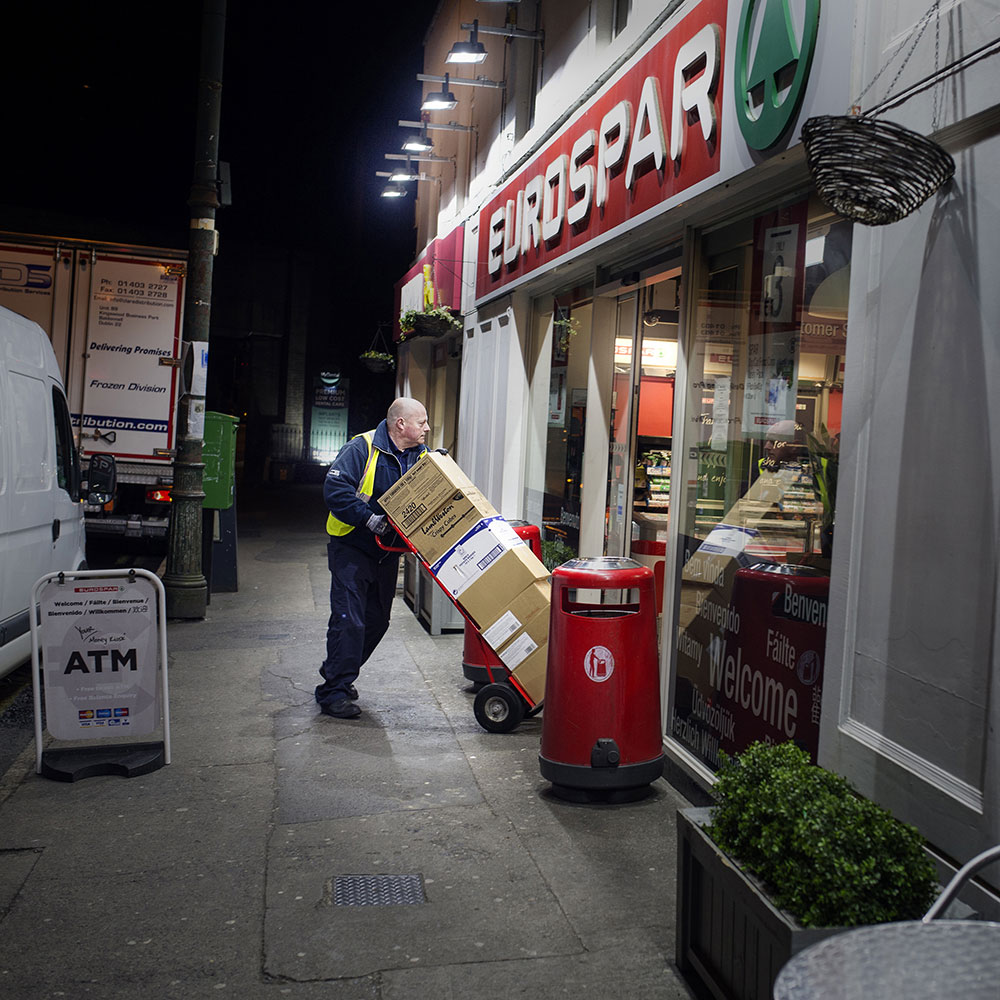Delivery at night
