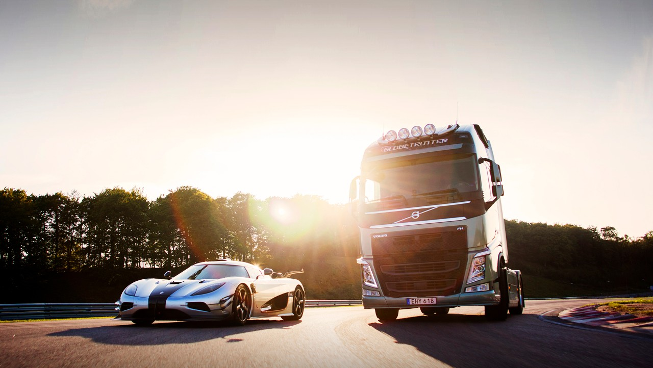 Volvo FH with Dual Clutch