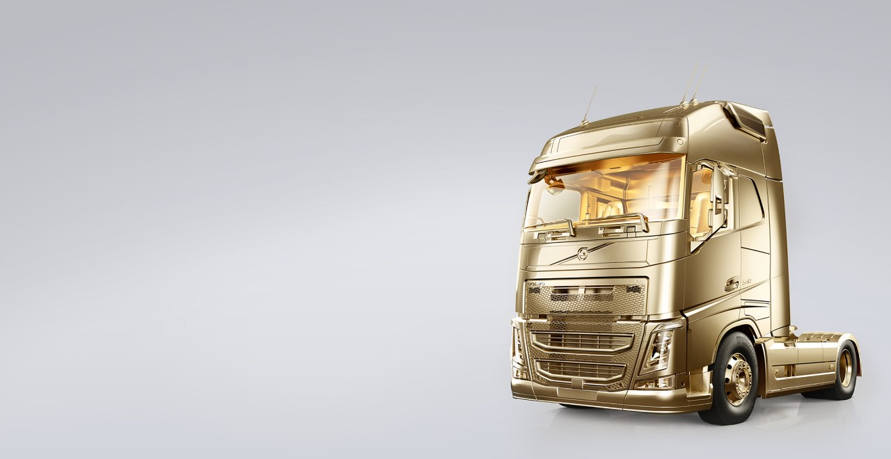 Volvo trucks services servicing contracts gold